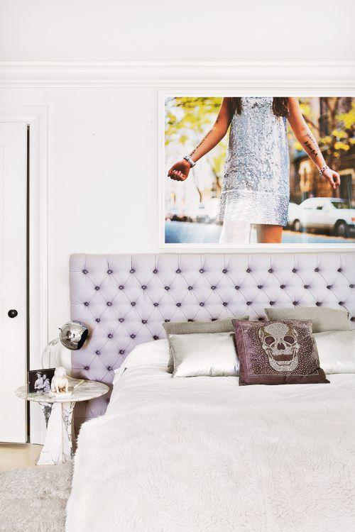 简欧风格奢华质感卧室效果图
