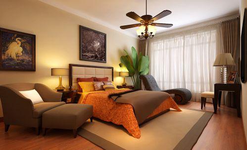 简欧风格三居室卧室吊顶装修效果图大全