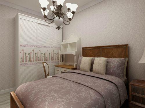 简欧风格二居室卧室衣柜装修效果图