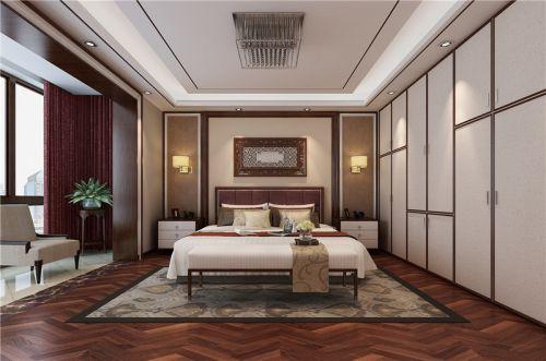 中式风格别墅卧室装修图片欣赏