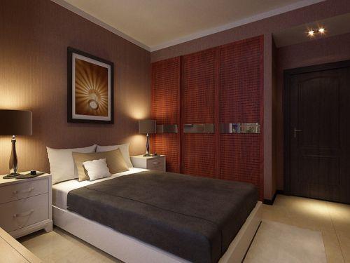 中式风格二居室卧室装修效果图大全
