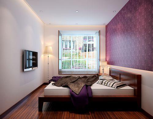 新中式二居室卧室装修效果图欣赏