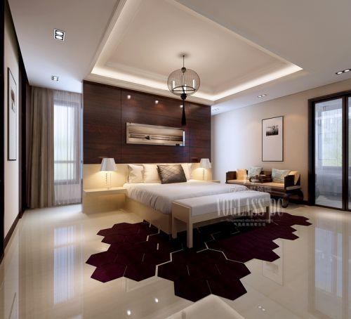 中式古典四居室卧室装修效果图大全