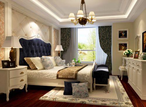 欧式古典二居室卧室装修效果图大全