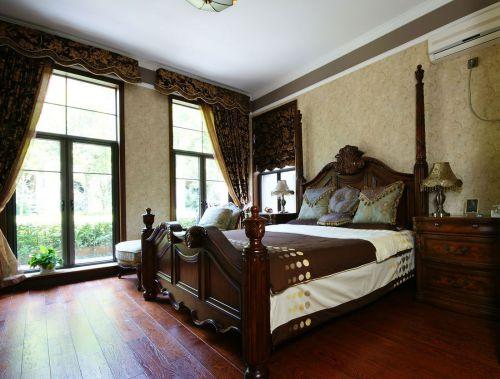 奢华欧式风格别墅卧室效果图大全