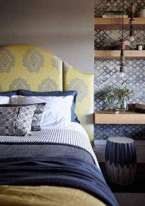 欧式风格温馨惬意卧室装修实景图