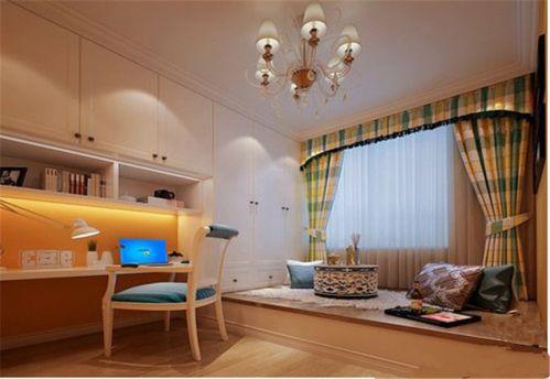 欧式风四居室卧室衣柜装修效果图欣赏