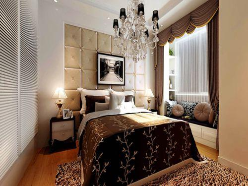 欧式风格四居室卧室吊顶装修效果图欣赏