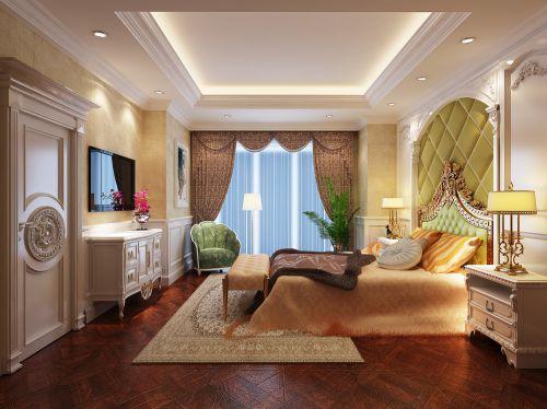 欧式新古典四居室卧室装修图片欣赏