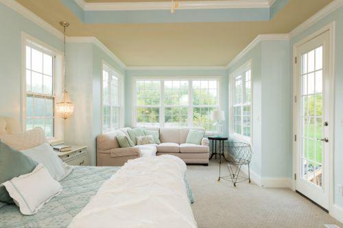 自然欧式风格浪漫奢华卧室装修效果图