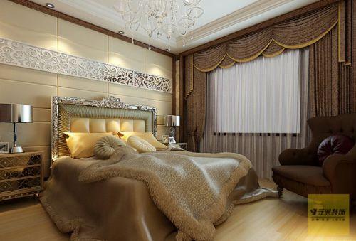 欧式古典风格三居室卧室装修图片