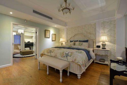 华丽欧式风格卧室隔断效果图欣赏