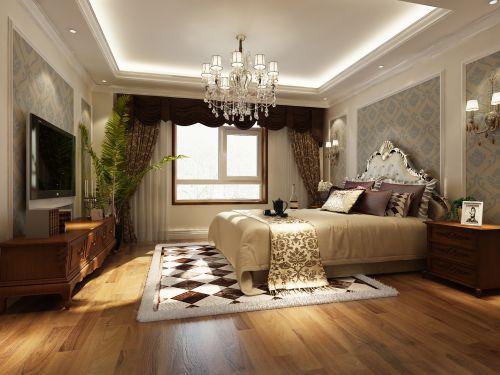 古典欧式二居室卧室装修效果图