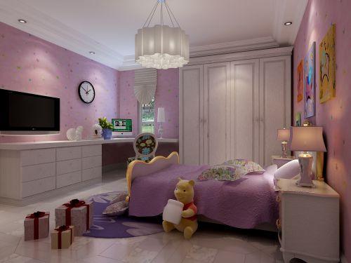 欧式时尚二居室卧室装修效果图