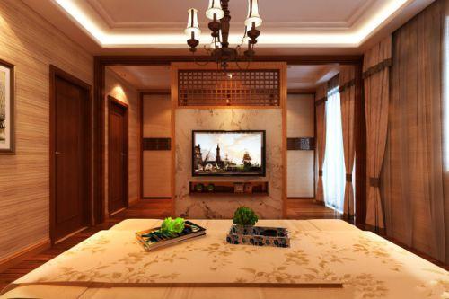 欧式风格四居室卧室装修图片欣赏