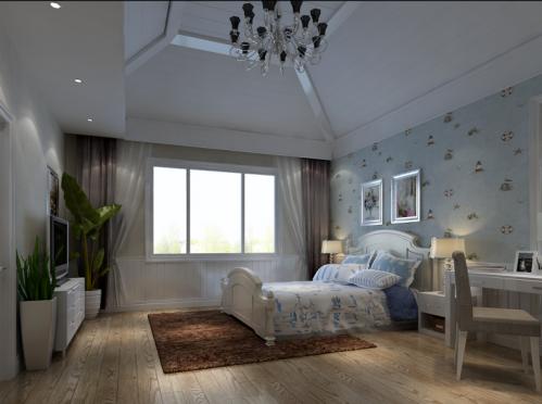 欧式风格别墅卧室装修效果图欣赏
