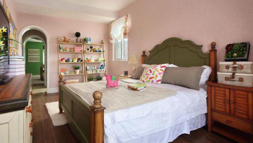 田园风格三居室卧室榻榻米装修效果图大全