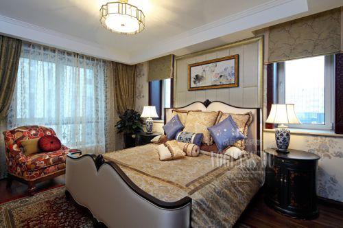 田园风格跃层卧室装修图片欣赏