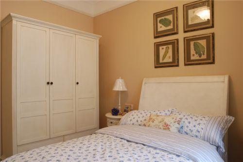 田园风格一居室卧室床装修效果图大全
