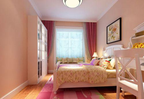 田园风格四居室卧室床头柜装修效果图大全