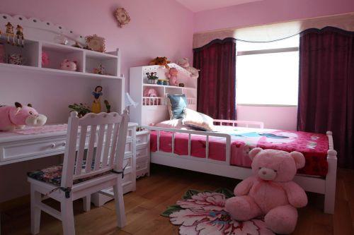 地中海风格四居室卧室梳妆台装修效果图欣赏