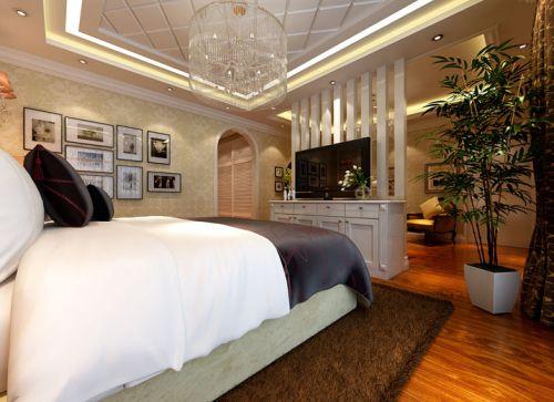地中海风格二居室卧室飘窗装修效果图大全