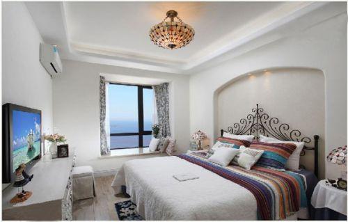 地中海风格二居室卧室装修图片欣赏