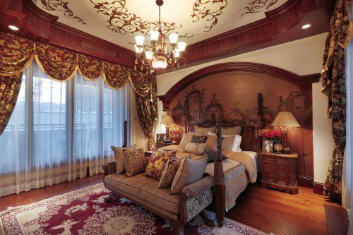 地中海风格六居室以上卧室装修效果图欣赏