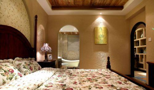 地中海风格二居室卧室装修效果图大全