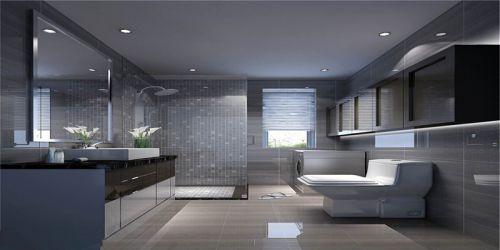 现代简约四居室卫生间屏风储物柜装修效果图大全