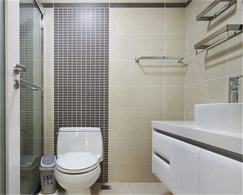 现代简约二居室卫生间吊顶装修图片