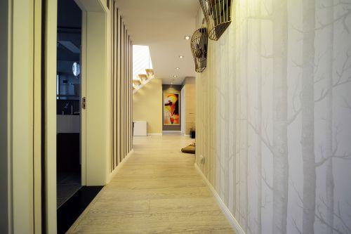 现代简约四居室玄关灯具装修效果图大全