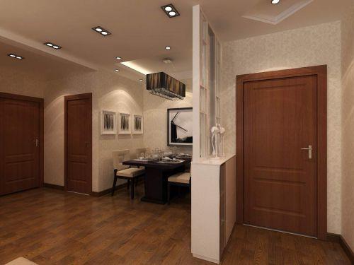 现代简约二居室玄关楼梯装修效果图大全