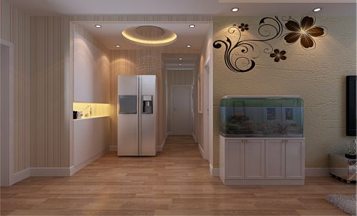现代简约二居室玄关装修效果图欣赏