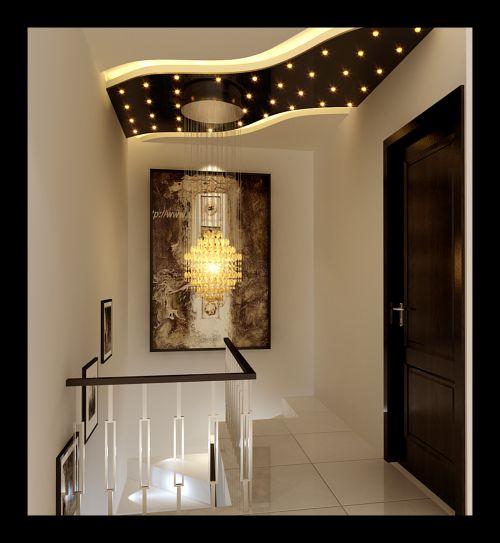 现代简约二居室玄关装修效果图