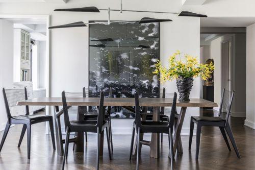 现代风格低调精致餐厅灯具图片欣赏