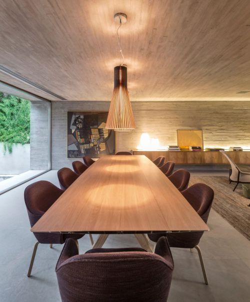 精致现代风格创意餐厅灯具效果图