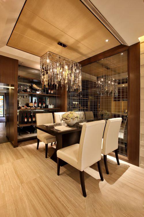 亮丽精致现代风格创意餐厅灯具设计