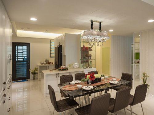 现代风格公寓设计精致时尚餐厅装修图片
