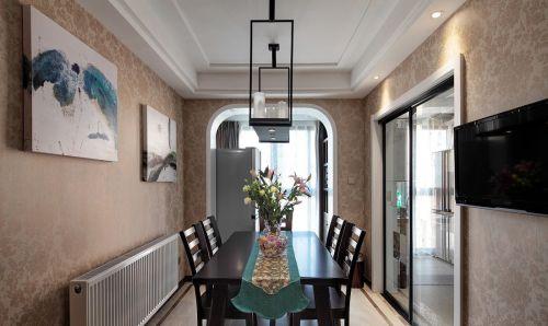 精致现代风格餐厅餐桌装修图片