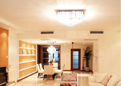 现代简约三居室餐厅装修效果图大全