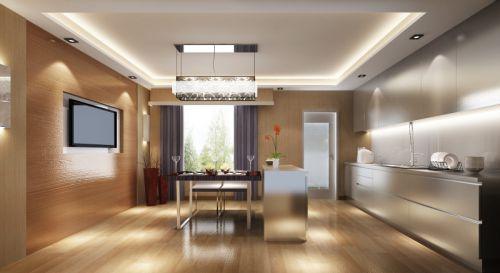 现代简约三居室餐厅沙发装修效果图大全
