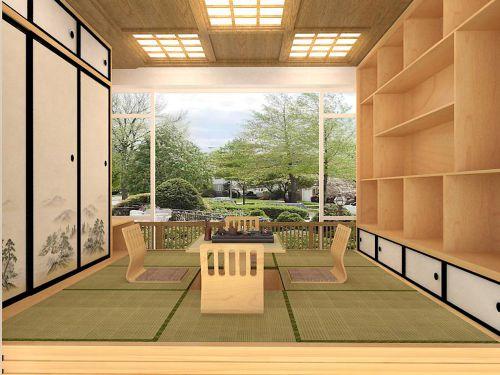 现代简约五居室阳台衣柜装修效果图欣赏