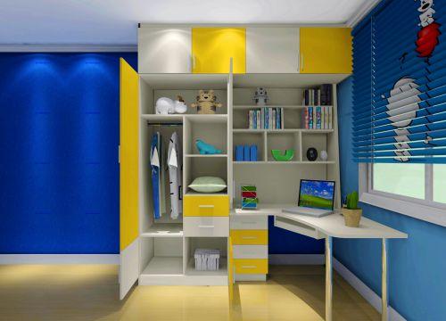 现代简约二居室儿童房装修图片欣赏