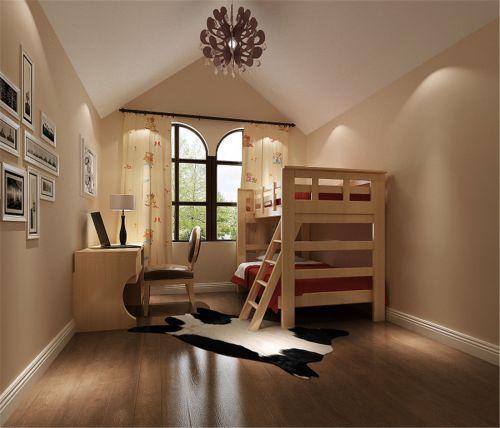 现代简约五居室儿童房装修效果图欣赏