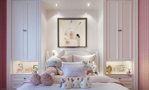 現代簡約二居室兒童房飄窗裝修效果圖欣賞