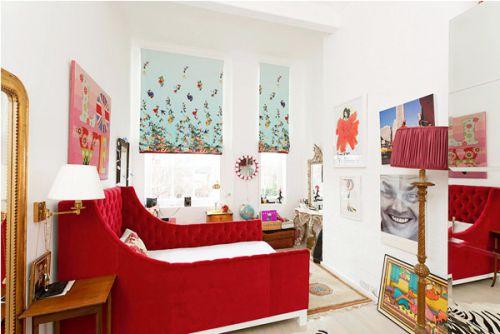 现代简约三居室儿童房吊顶装修效果图大全