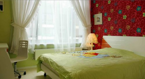 通透现代简约风儿童房装修效果图