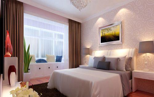 现代简约三居室儿童房床头柜装修效果图欣赏