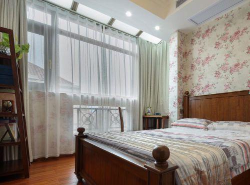 家装现代风格儿童房窗帘装修案例